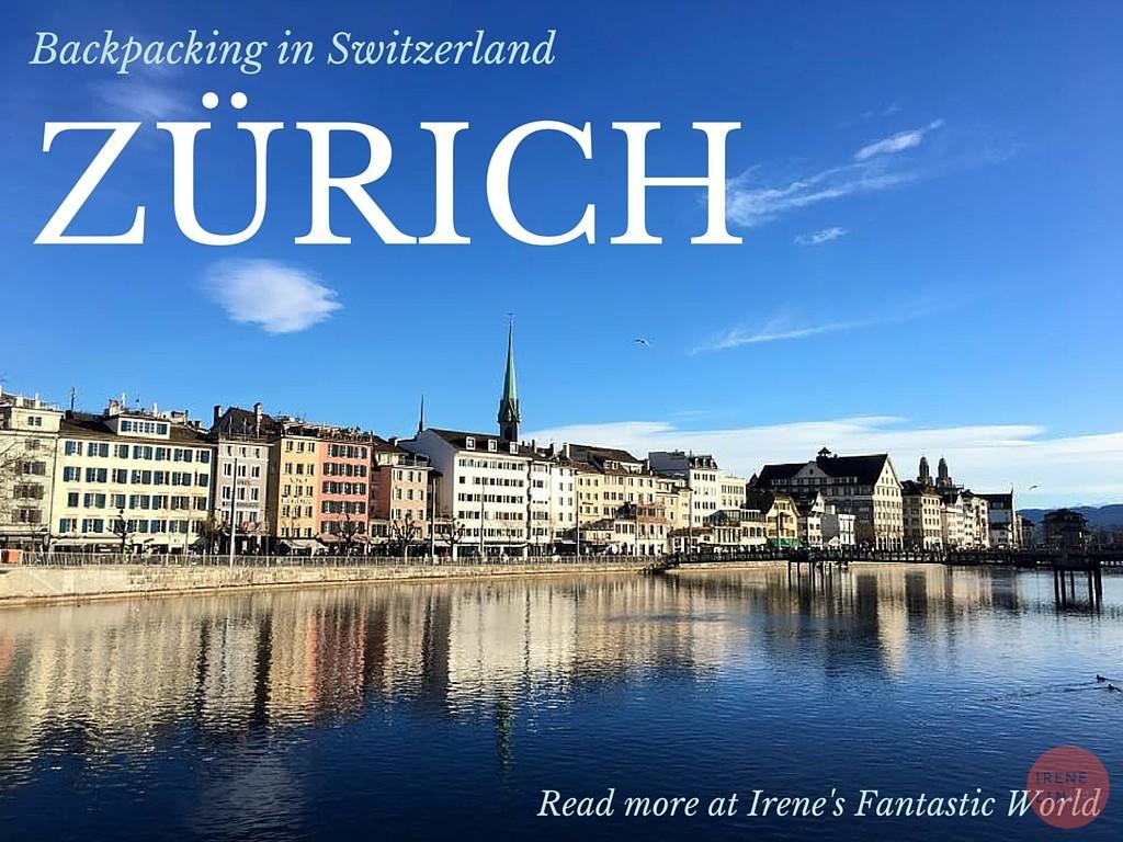 瑞士| 蘇黎世 美如世外桃源的金融城市