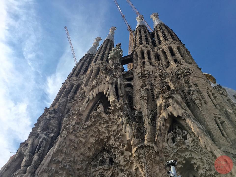 西班牙| 巴塞隆納 施工逾百年尚未完工的絕美聖家堂
