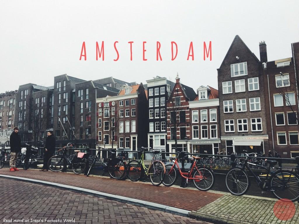 阿姆斯特丹 | 荷蘭風車 紅燈區初體驗