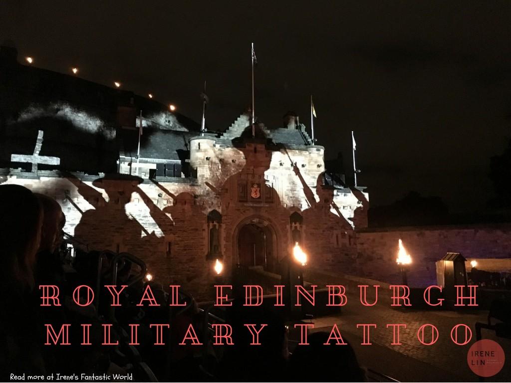 英國| 愛丁堡軍樂節 線上購票教學