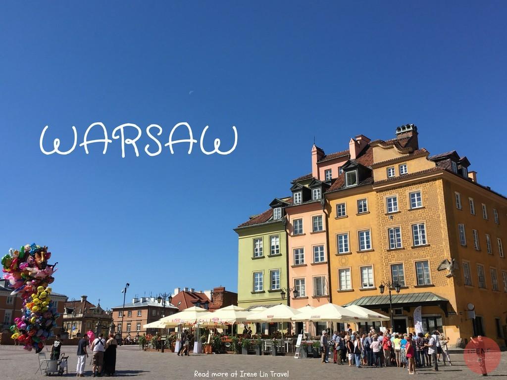 波蘭華沙自由行攻略| 華沙 交通/住宿/行程/景點/美食出走日記