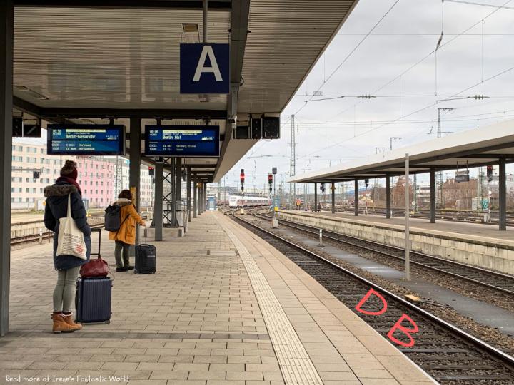 歐洲火車 |德國國鐵 線上訂票教學 DB頭等艙開箱